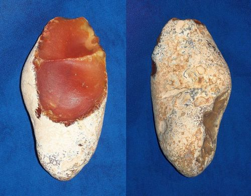 Lower Paleolithic Mode 1 Pebble Chopper