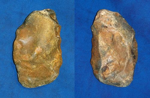Neanderthal Scraper on a Flake