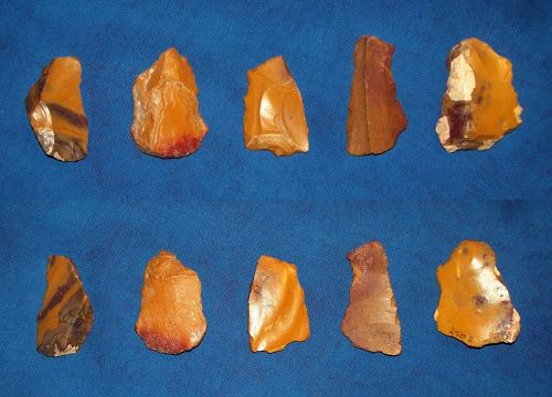Five Small Neanderthal Tools