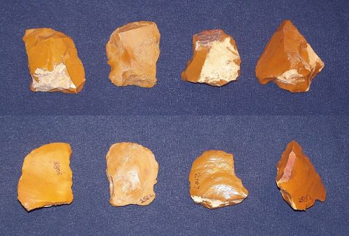 Four Upper Paleolithic Tools from Fontmaure