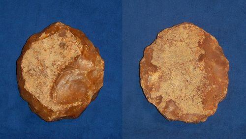 Neanderthal Discoid Scraper