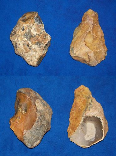 Two Lower to Middle Paleolithic Proto-axes