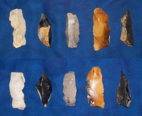 Five Various Neolithic Ertebolle- Ellerbek Tools