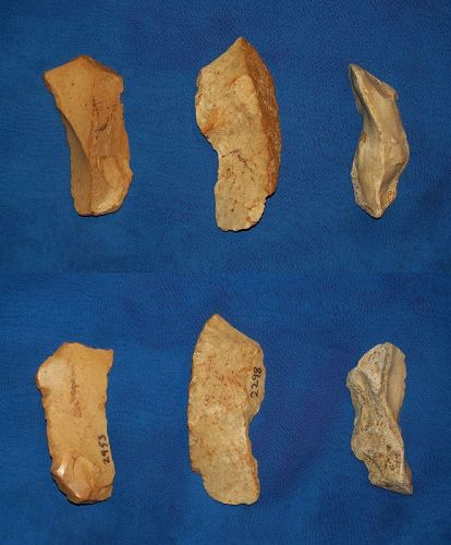 Three Neanderthal Burins