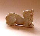 Chinese Jade Chimera - Song Dynasty 969 - 1126 AD