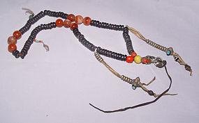 Large Wooden Bodhi Mala Prayer Beads From Lhasa