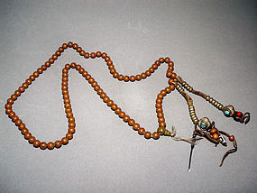 Tibetan Mala Prayer Beads From Lhasa 024