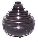 Burmese Lacqerware Food Container #1 - 19th Century