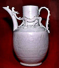 Rare Chinese Qingbai Song Ewer with Two Dragons 960 -1126 AD