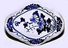 Chinese Blue & White Nyonya Ware Plate- 19th Century
