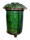 Chinese Green Glazed Han Granary - 206 BC - 220 AD