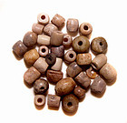 Ancient Chinese Carved Stone Beads Over 2500 years old