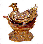 Gilded  Mythical  Myayngu  Bird of Burma