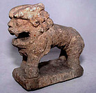 Chinese Han Carved Stone Lion - 206 BC - 220 AD