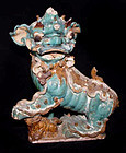 Chinese Temple Foo Lioness Roof Tile Statue 16th Century