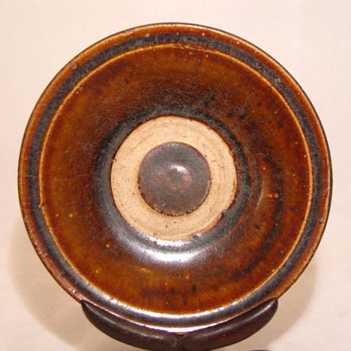 Vietnamese Annamese Brown Plate - 14th Century