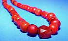 Chinese Ancient Carnelian Bead Necklace