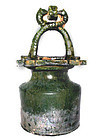 Green Glazed Han Dynasty Well -206BC - 220AD