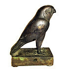 Bronze Egyptian Falcon Replica