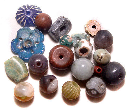 Twenty Chinese Old Beads