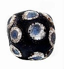 Very Rare Chinese Glass Eye Bead - Warring States - 475BC-221BC