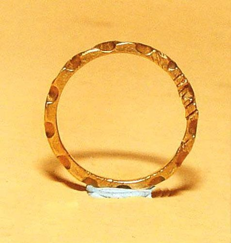 Ancient Gold Ring - 100 to 500 AD
