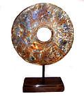 Large Chinese Neolithic Jade Bi Disc - 3000 BC