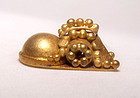 Rare Pyu Solid Gold Mythical Animal 100 - 500 AD