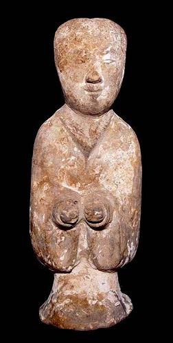 Chinese Cute  Han Lady Attendent - 206BC - 220AD