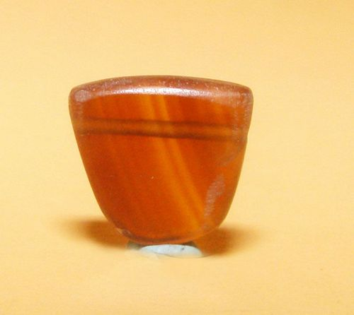 Ancient Natural Banded Agate Bead Pendant -100BC