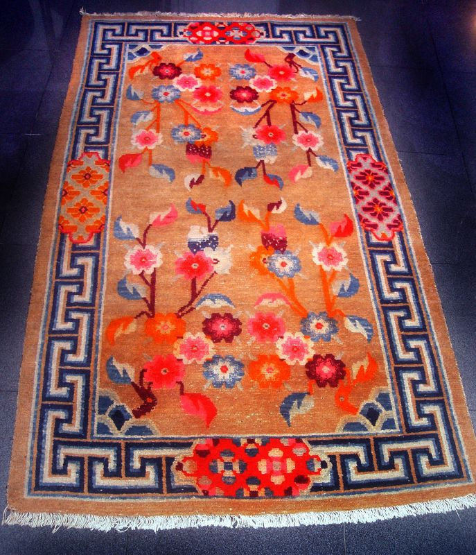 Tibetan Temple Carpet - 19th Century #5