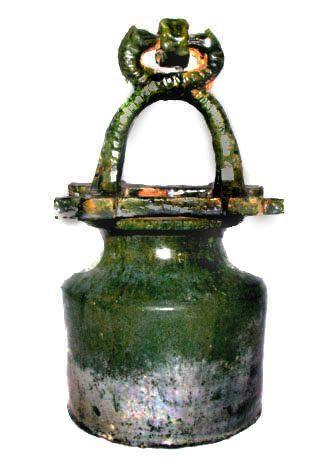 Green Glazed Han Dynasty Well -206BC - 220AD