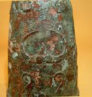 Rare Dong Son Bronze Bell with Assorted Animals - 300 BC