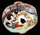 Japanese Erotic Tengu Sake Choko Cup