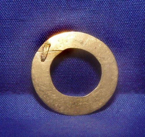 Rare Ancient Pyu Gold Disc 100 - 200 AD