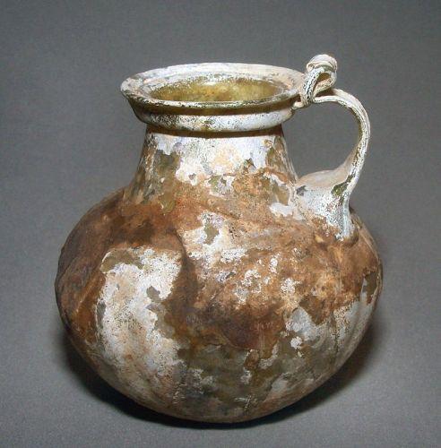 Ancient Roman Glass Ewer