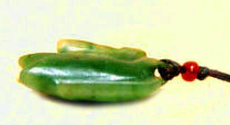 Chinese Han Jadeite Translucent Green Jade Bird - 206 BC - 25AD