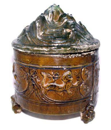 Han Hill Jar w/Hunting Scenes - 206 BC - 220 AD