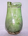 Green Glazed Chinese Flask