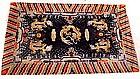 Chinese/Tibetan Dragon Temple Carpet #3 - 19th Century