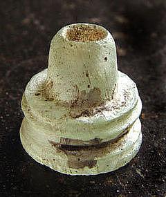 Small Ancient Glass Pyu Stupa - 100AD