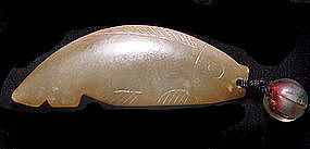 Chinese Song Jade Fish