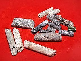 Assortment of Chinese Neolithic Beads - 1500 BC