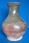 Han Dynasty Green Glazed Hu Form Jar