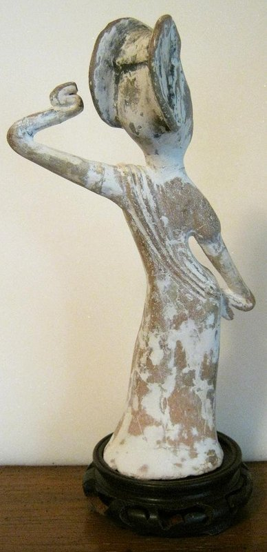 Tang Dynasty      Pottery      Dancer