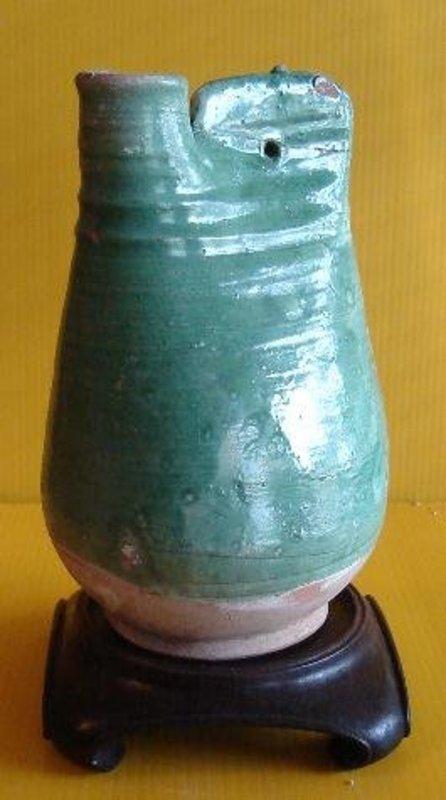 Liao Dynasty Pilgrim Flask