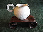 Tang Dynasty Cup With Ring Handle -RARE !