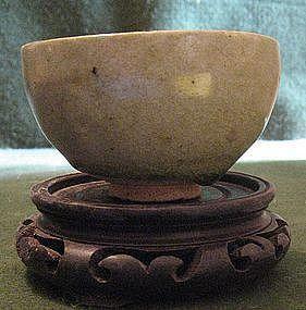 RARE - Tang Dynasty Celadon Beggar Bowl