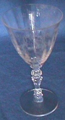 Fostoria Chintz Crystal Wine