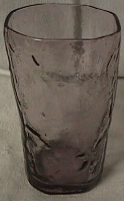 Morgantown Crinkle Purple Juice Tumbler